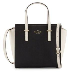 Kate Spade Cedar Street Hayden Bag Black & Pebble